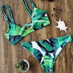 Other - palm print bikini